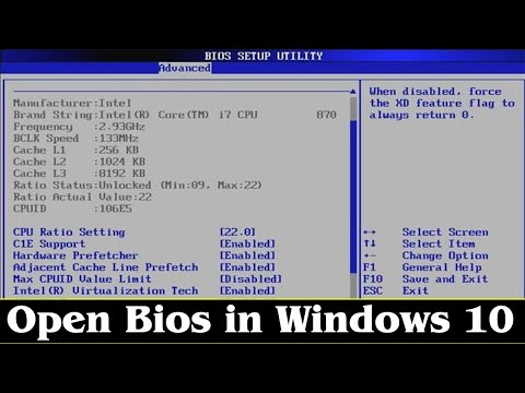 [GUIDE] How to Enter Bios Windows 10 very Easily & Quickly