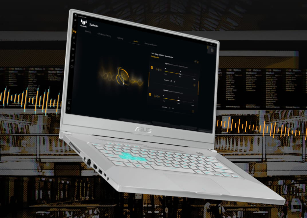 Asus TUF 15 Dash - best budget gaming laptop for battery life.