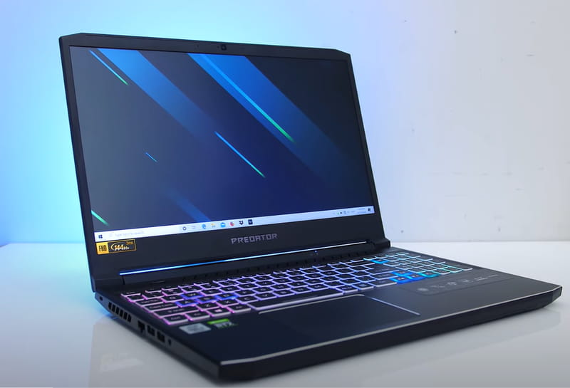 Acer Predator Helios 300 - An all-round gaming laptop with high performance and decent battery backup.
